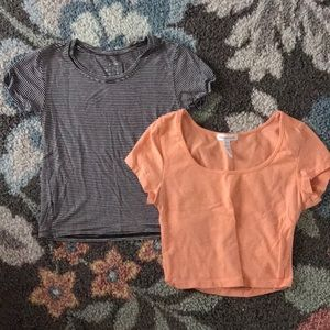Wet Seal/ Ambiance Crop Tops